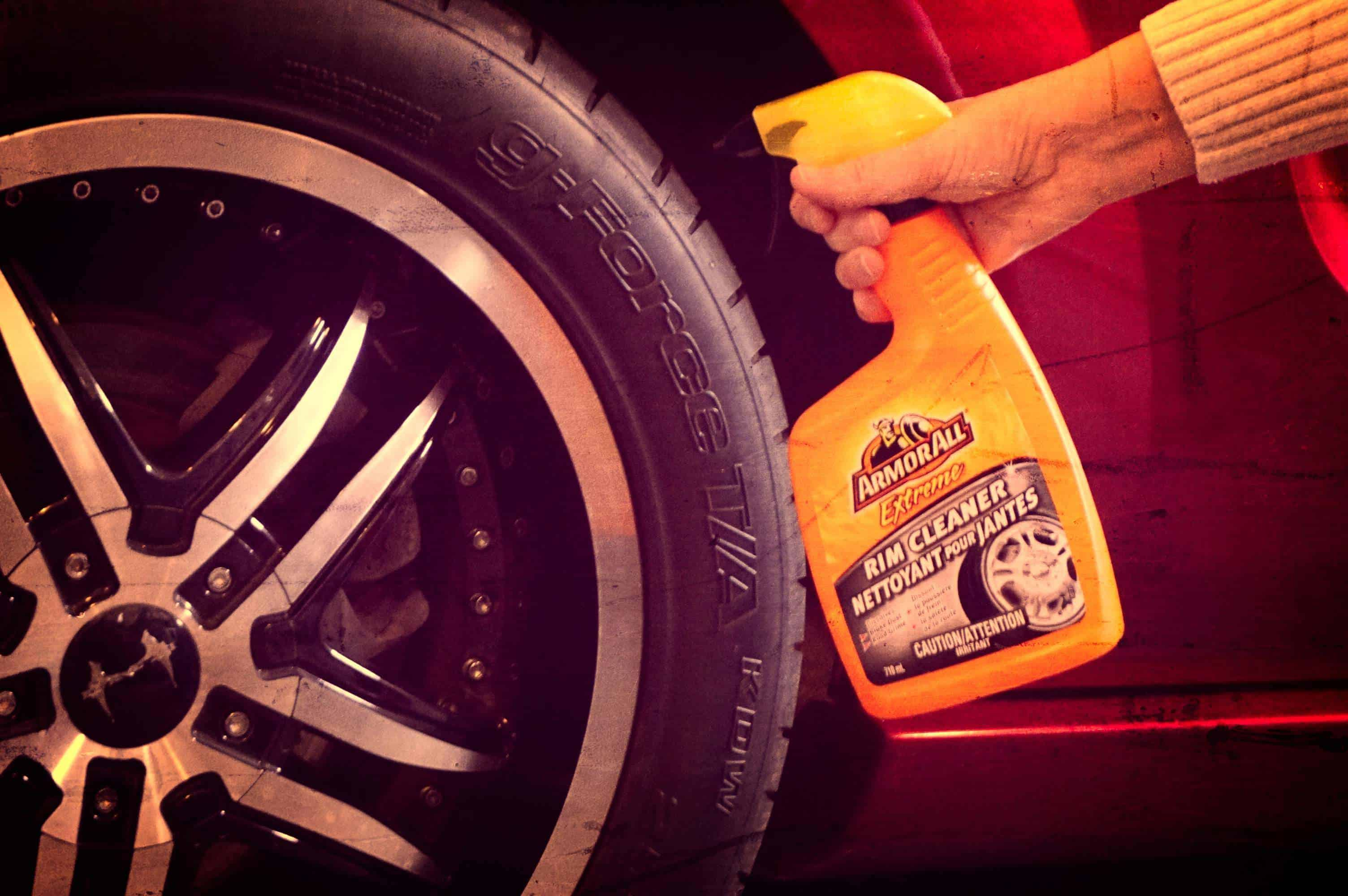 tires and wheels cleaner