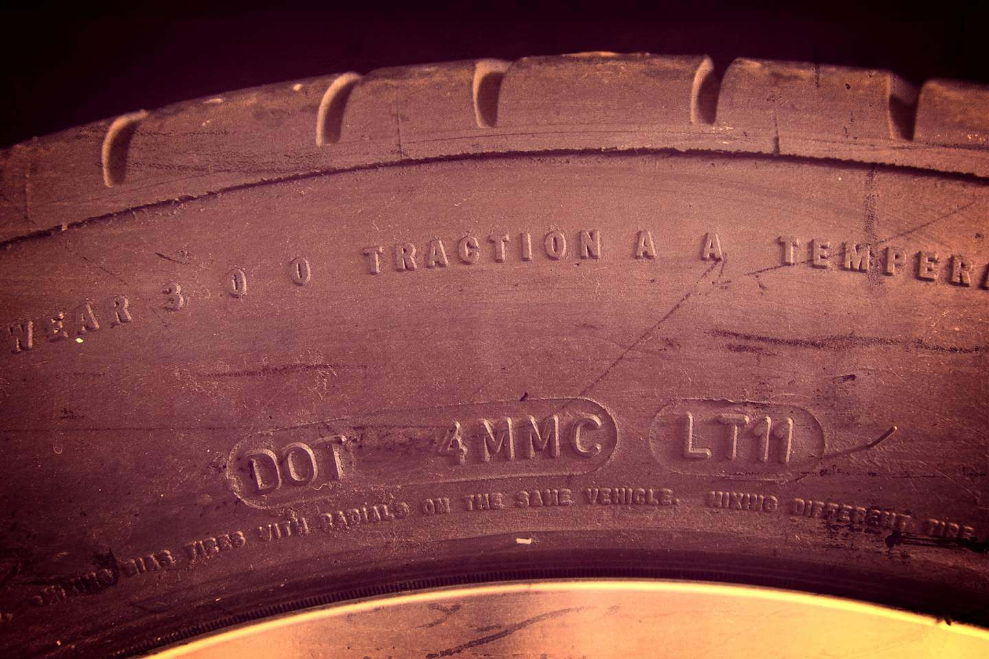 Tire identification number DOT
